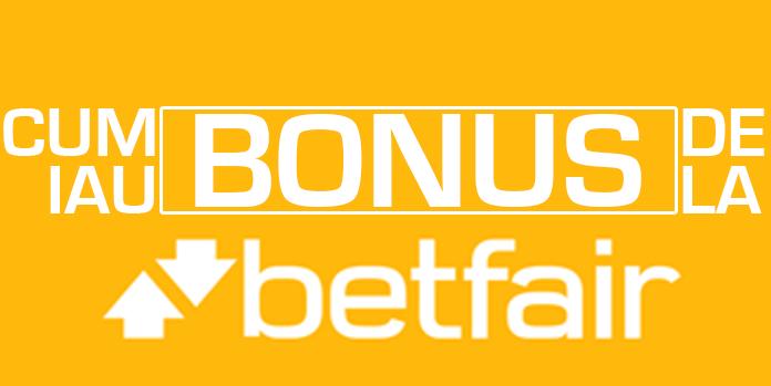 Promoții și bonusuri la Betfair